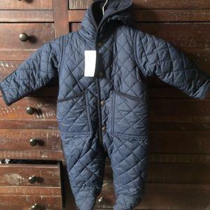 Brand new Polo Ralph Lauren baby snowsuit.